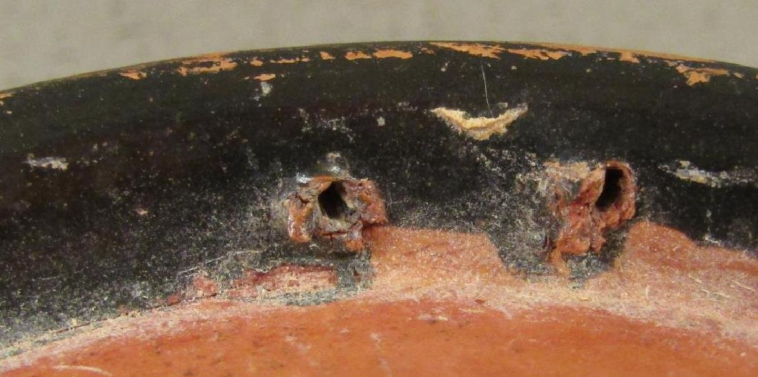 Greek Campanian Black Glazed Terra Cotta Bowl - 8