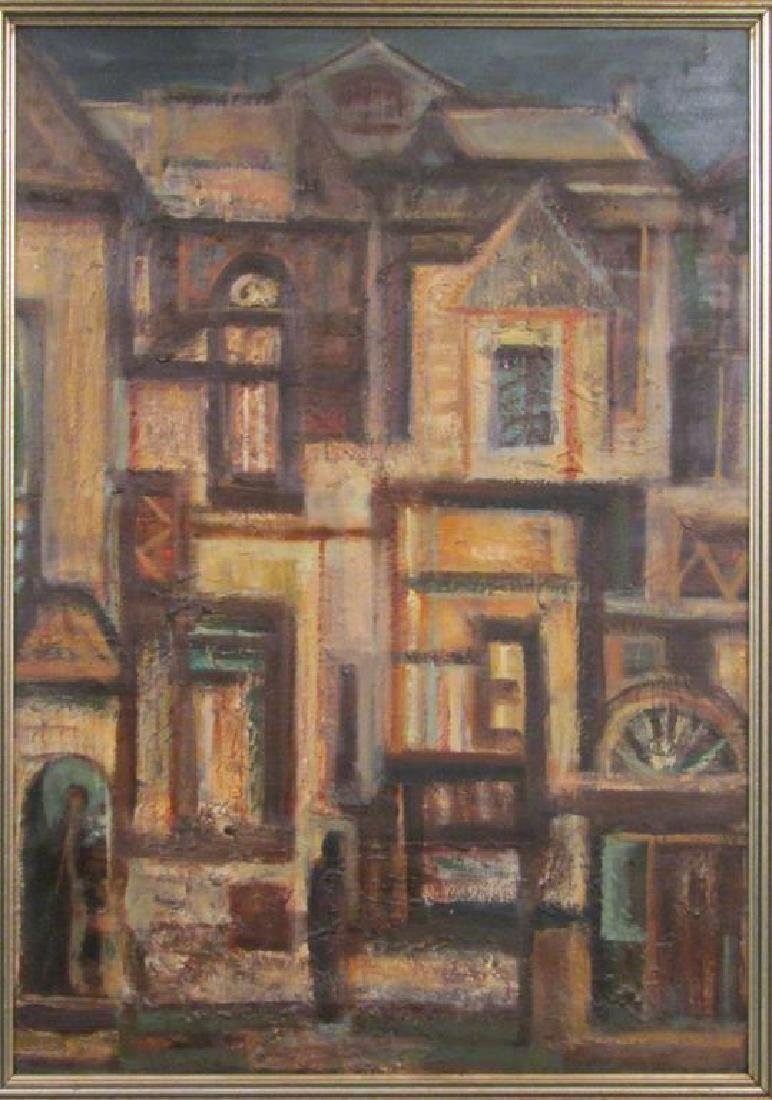 Antal Freres (Ferenc) (Hungarian) - Oil on Board