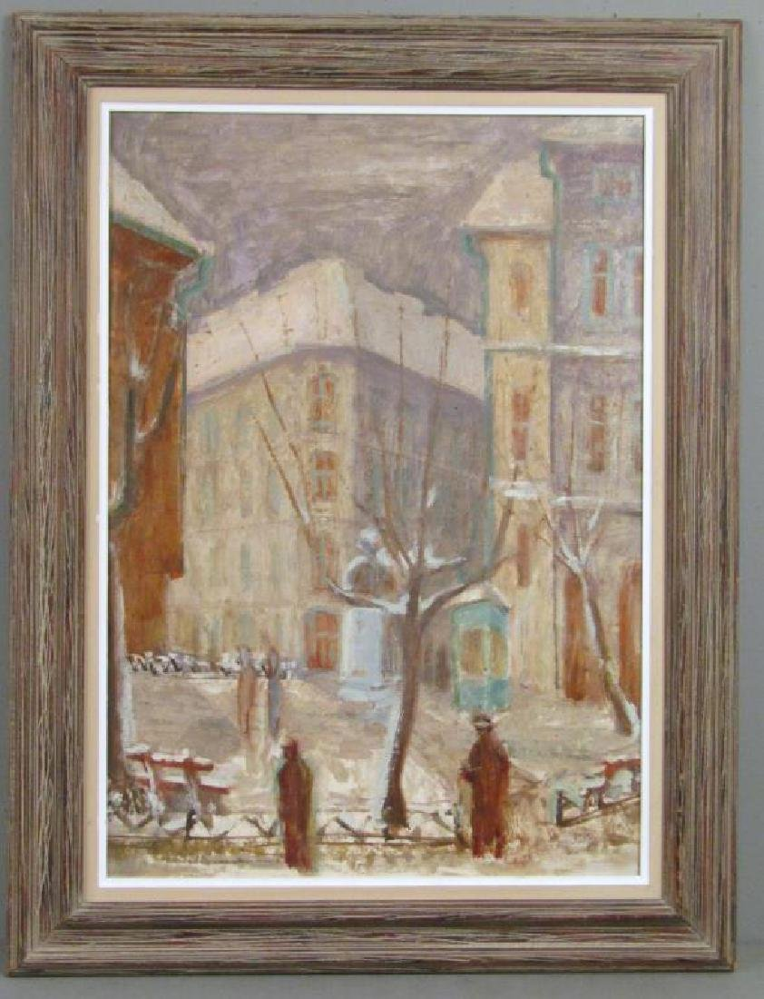 Antal Freres (Ferenc) (Hungarian) - Oil on Board - 2