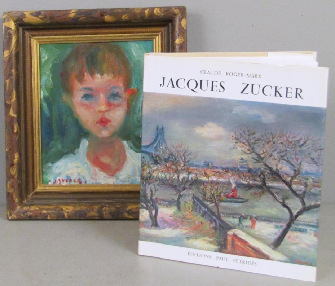 Jacques Zucker (Polish 1900-1981) - Oil on Board - 4