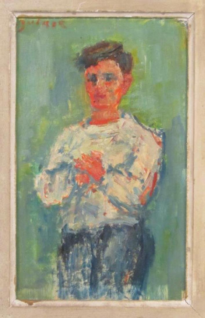 Jacques Zucker (Polish 1900-1981) - Oil on Board