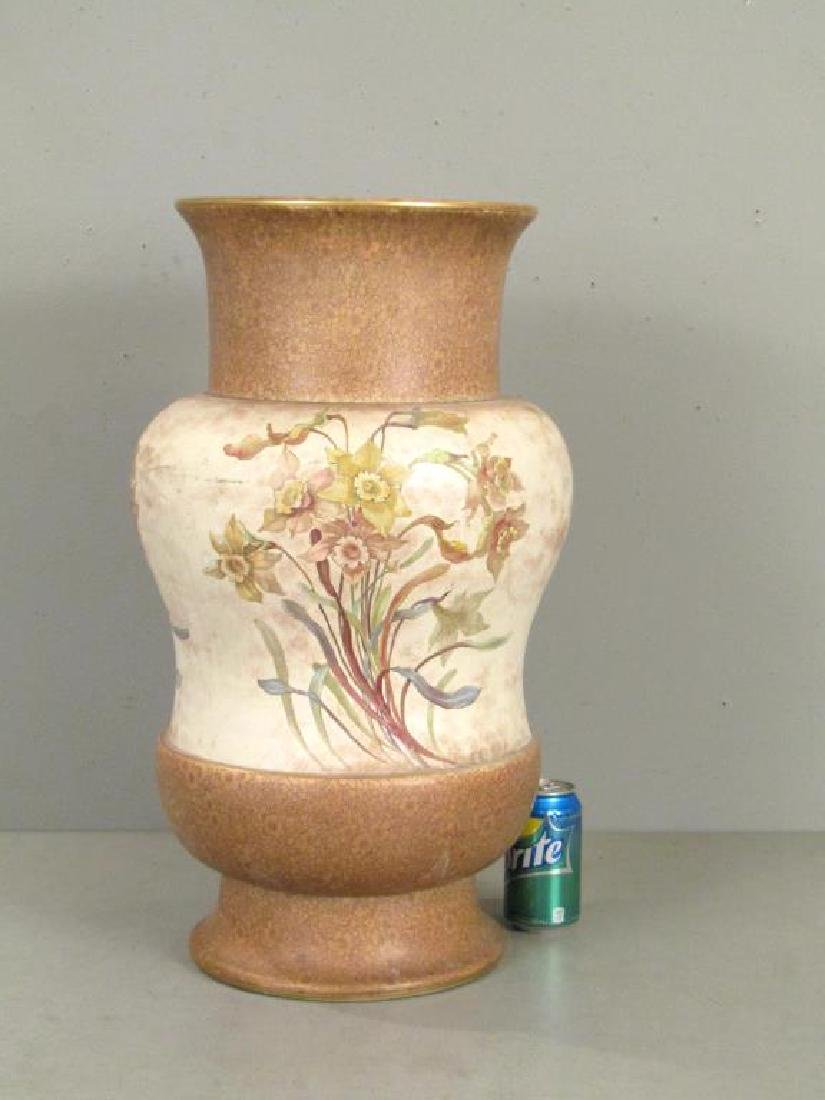 Large Doulton Burslem Porcelain Vase (as is) - 3