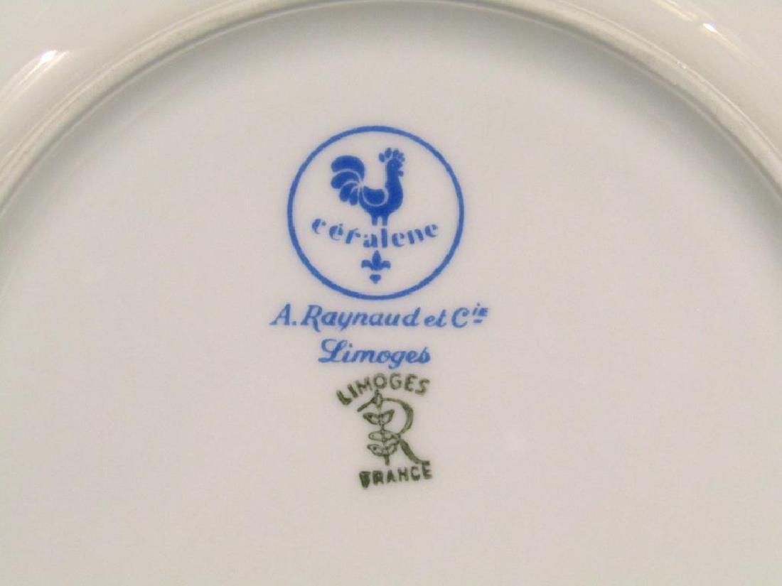 12 A. Raynaud et Cie Limoges Place Plates - 3
