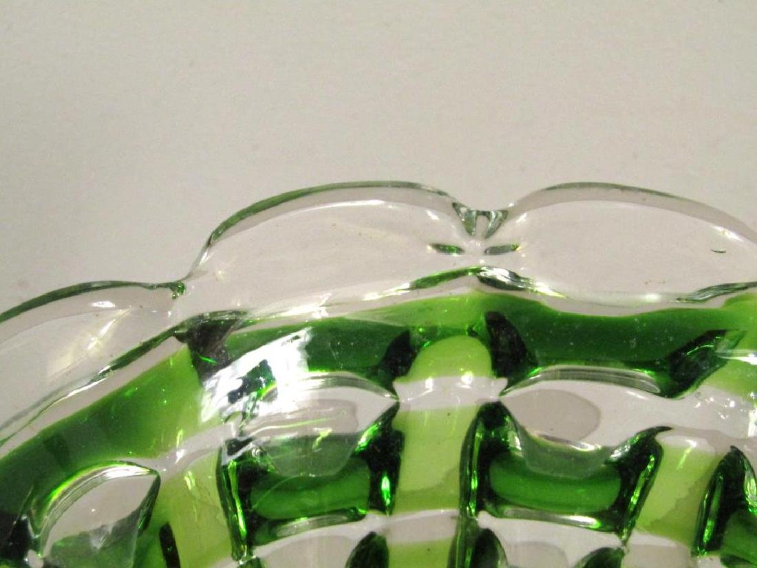 Heavy Murano Glass Vase (as is) - 3