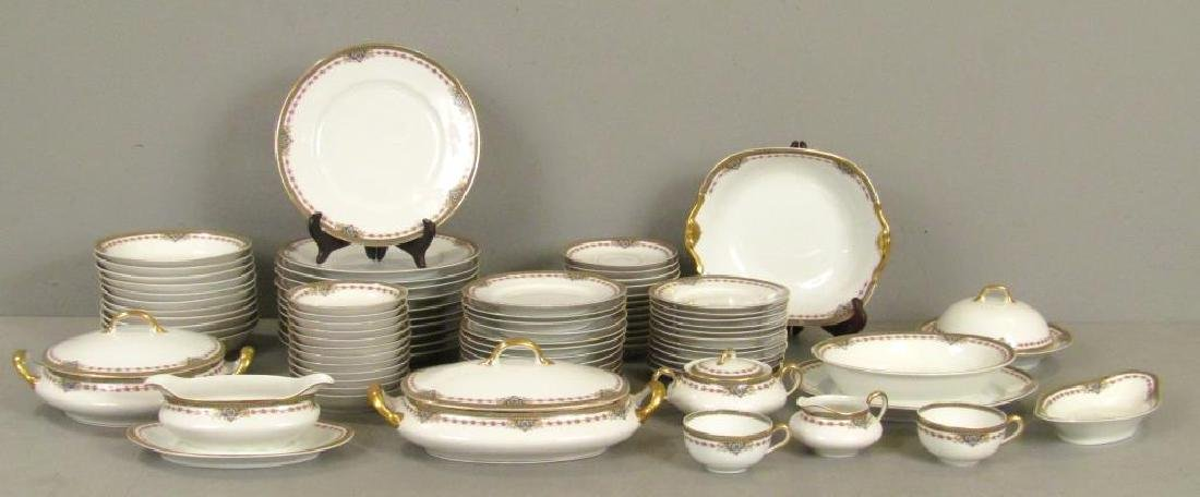 82 Piece Limoges Dinner Set