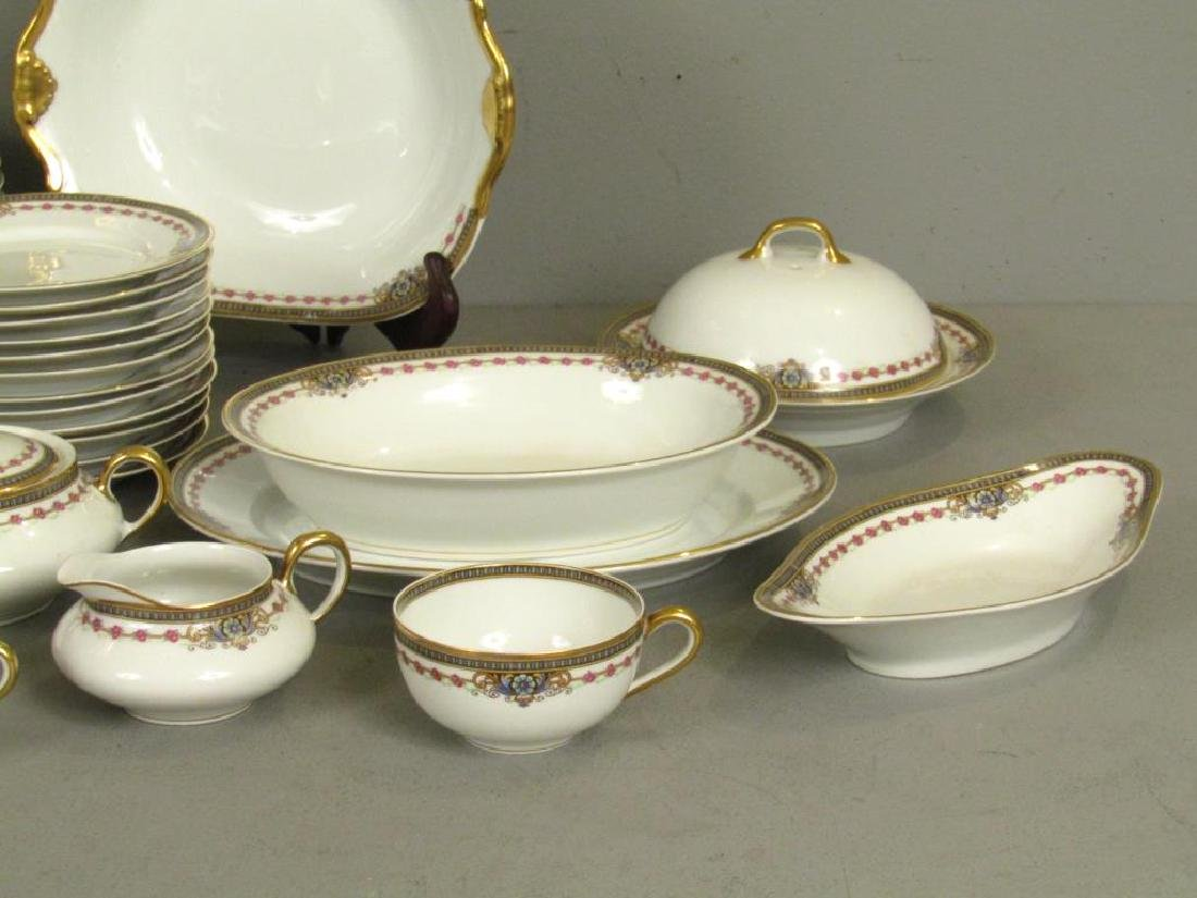 82 Piece Limoges Dinner Set - 6