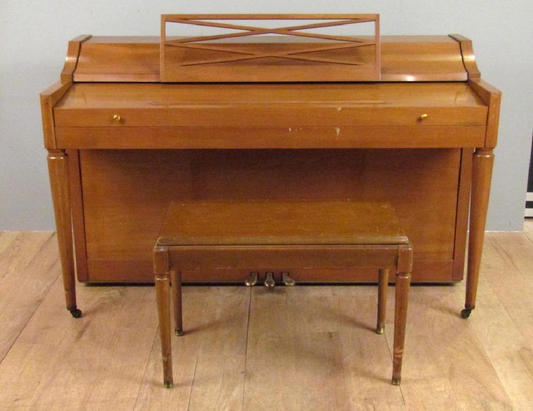 Baldwin Acrosonic Art Deco Piano and Bench