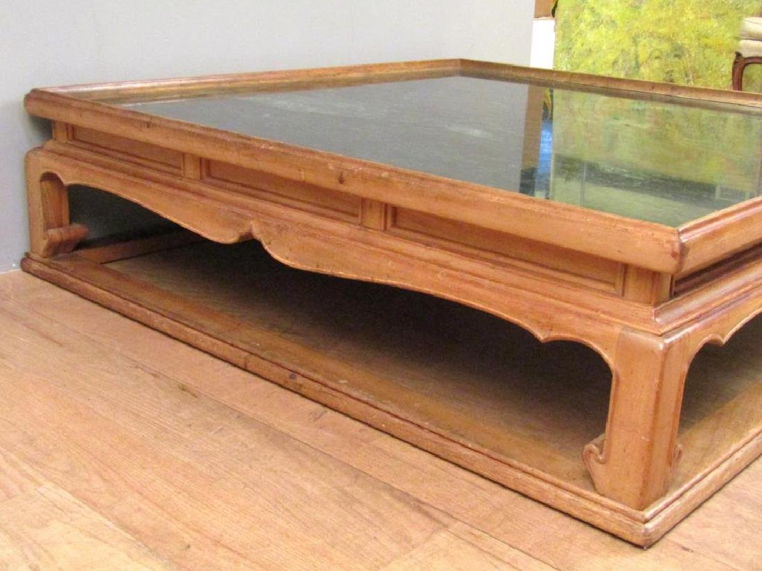Chinese Style Marble Top Coffee Table - 4