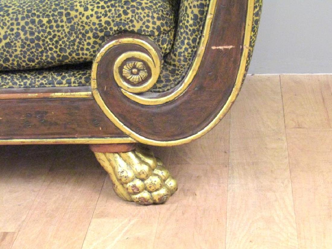 Russian Empire Style Chaise Lounge - 4