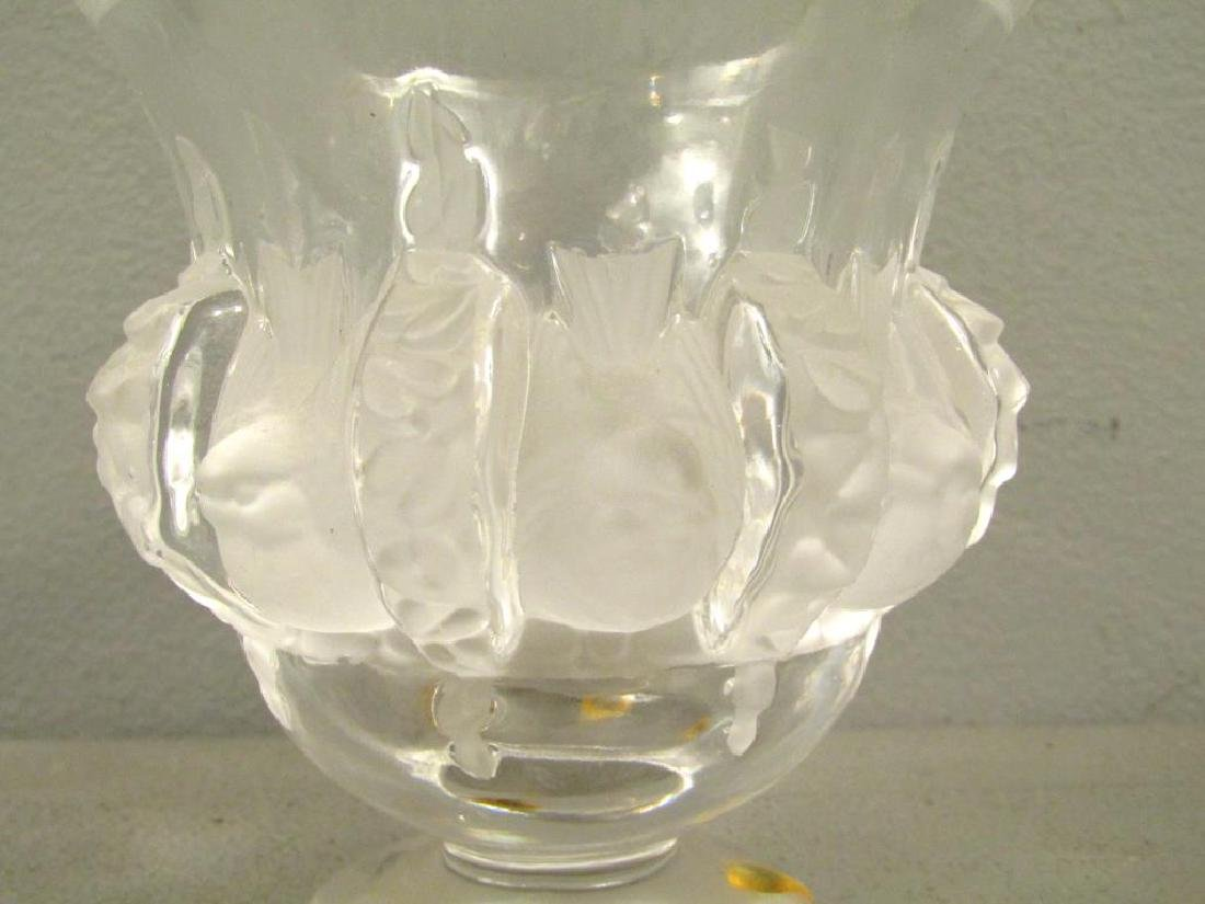 Lalique Small Vase - 3