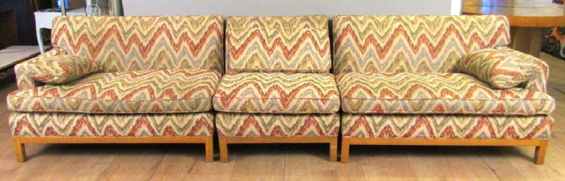 Mid Century 3 Part Sectional Sofa