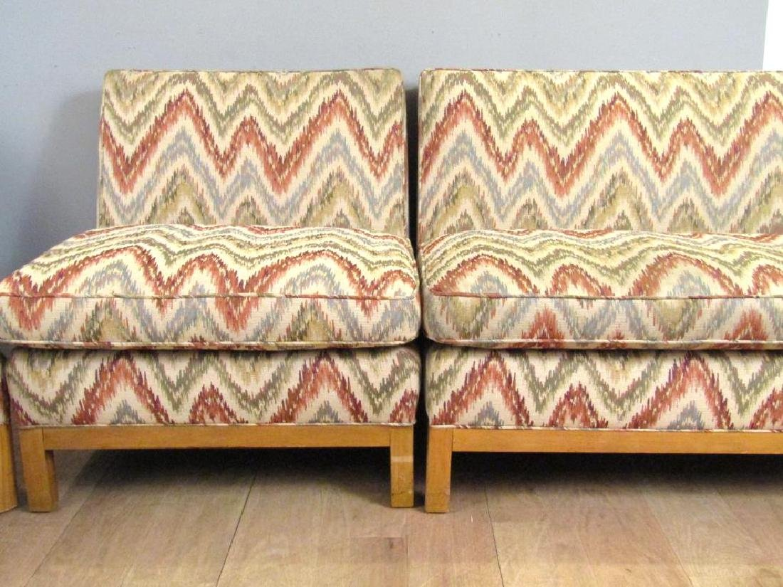 Mid Century 3 Part Sectional Sofa - 4