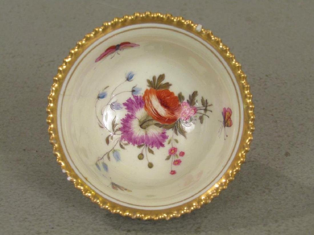 Old Flight Barr & Barr Butterfly Cup and Saucer - 4