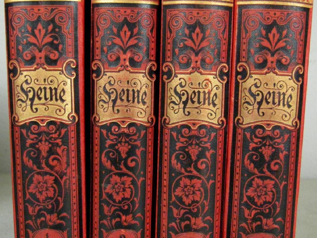 2 Sets of Leather Bound Books - 3