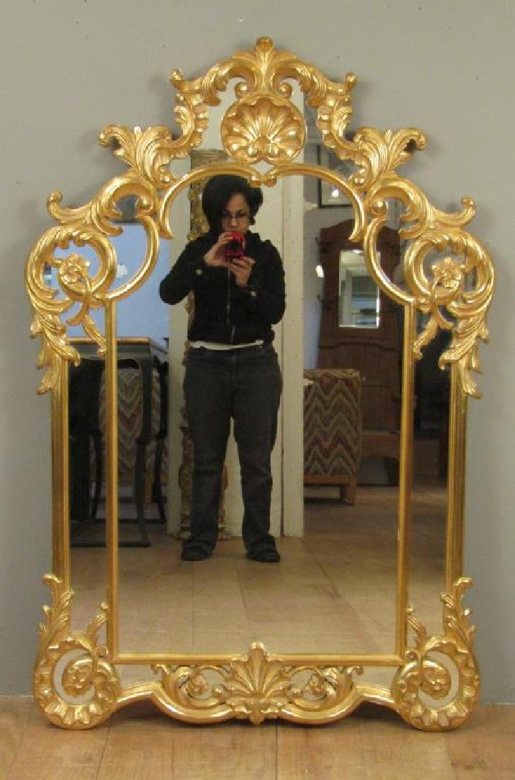 Georgian Style Gilt Carved Mirror