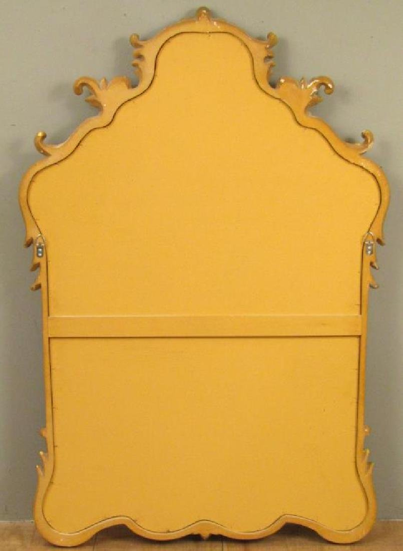 Georgian Style Gilt Carved Mirror - 7