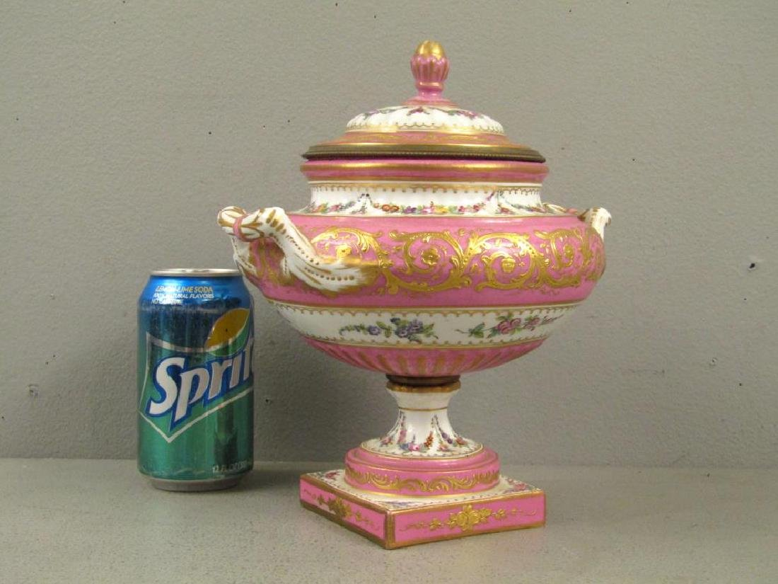 Sevres Porcelain Covered Coupe - 2