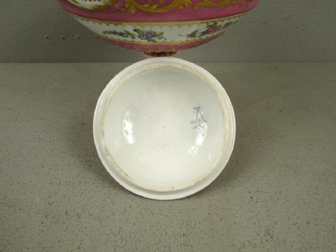 Sevres Porcelain Covered Coupe - 3