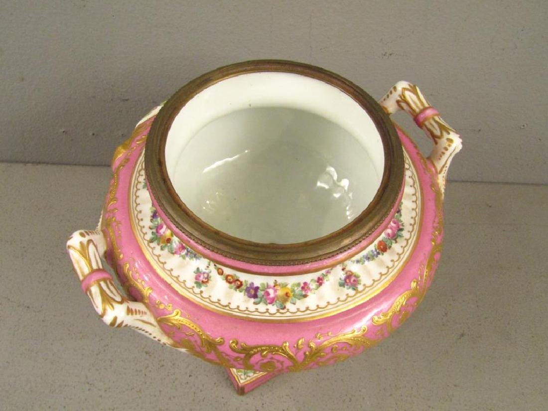 Sevres Porcelain Covered Coupe - 4