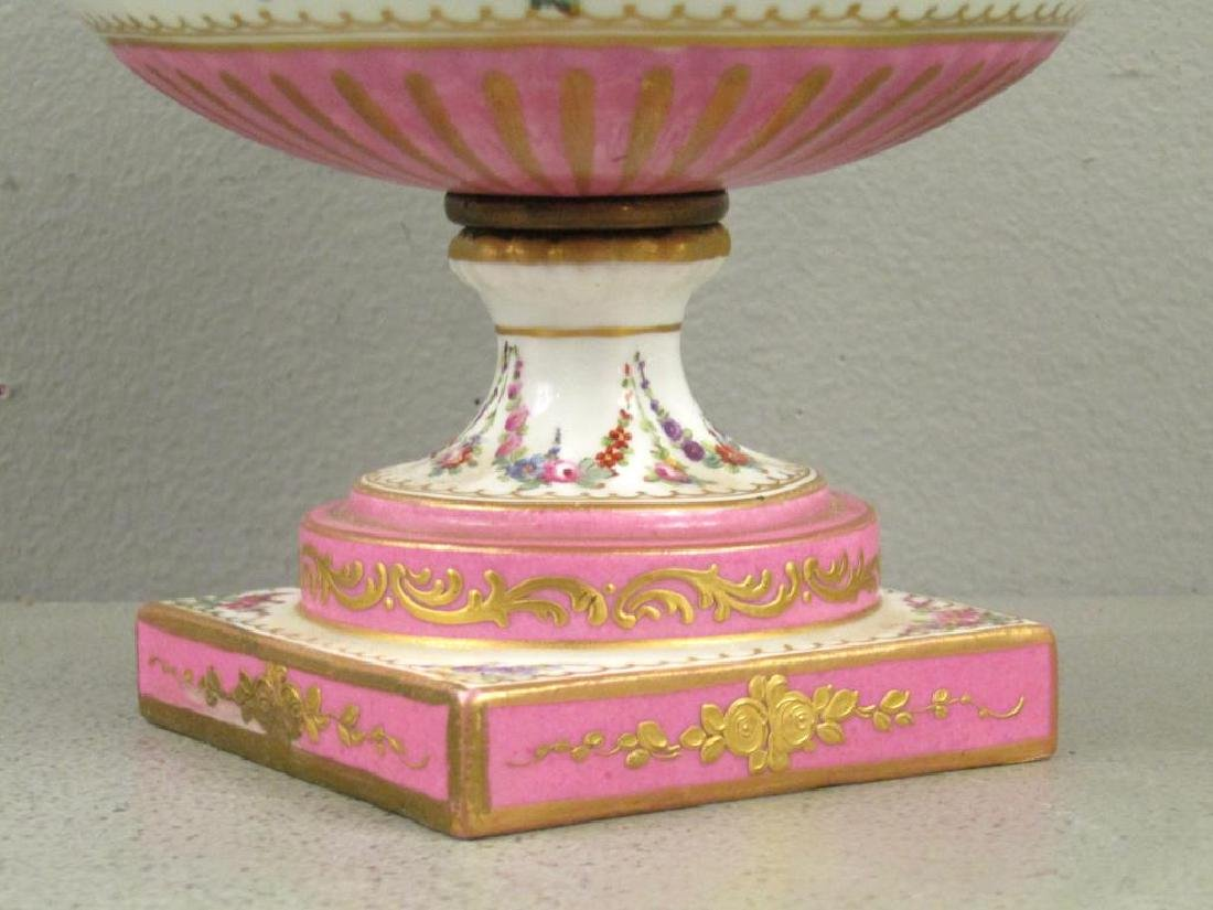 Sevres Porcelain Covered Coupe - 5