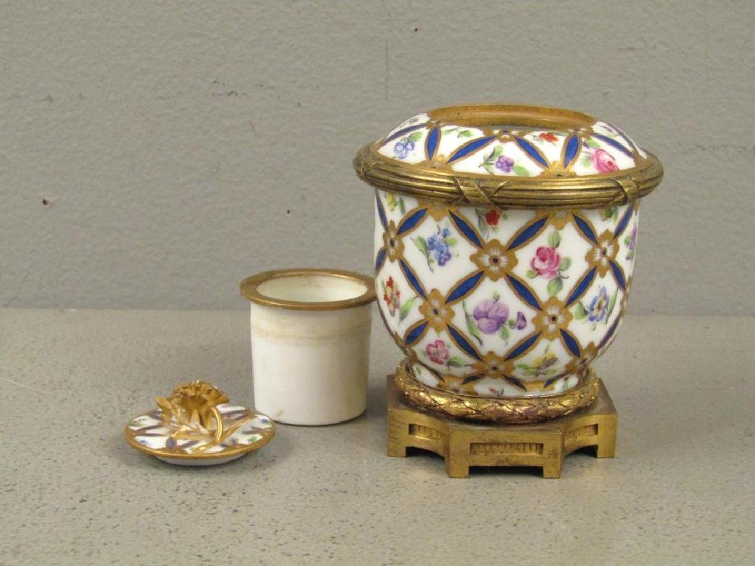 Sevres Bronze Mounted Ink Stand - 2