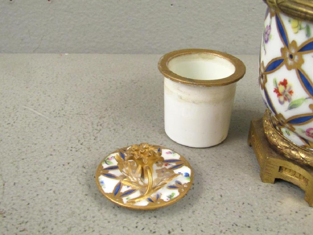 Sevres Bronze Mounted Ink Stand - 3