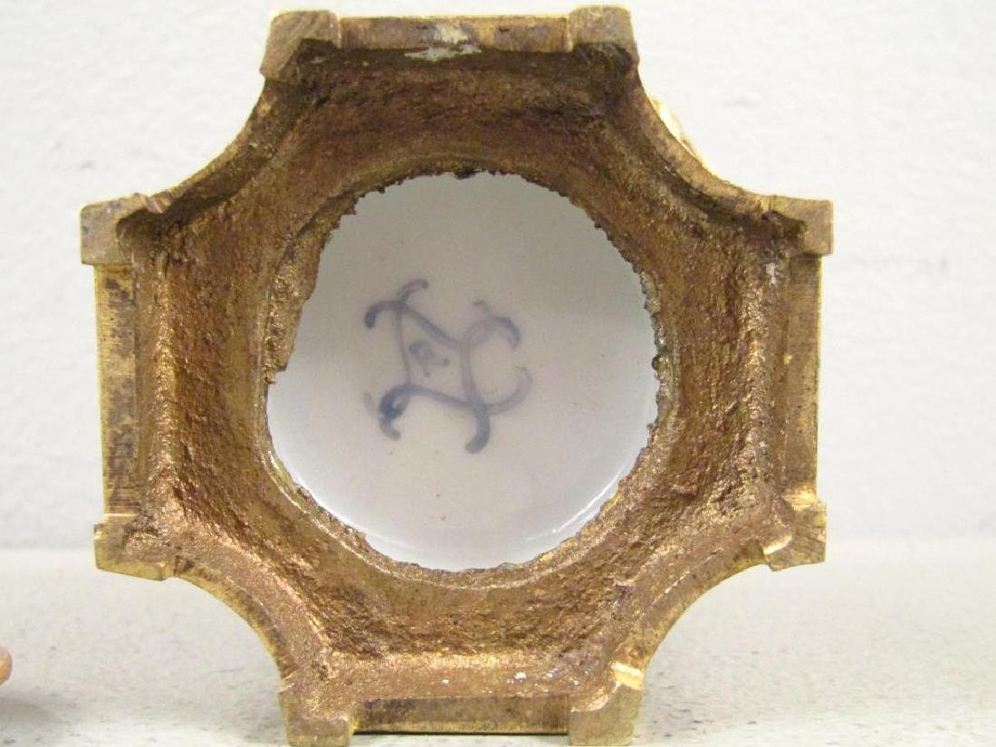 Sevres Bronze Mounted Ink Stand - 5