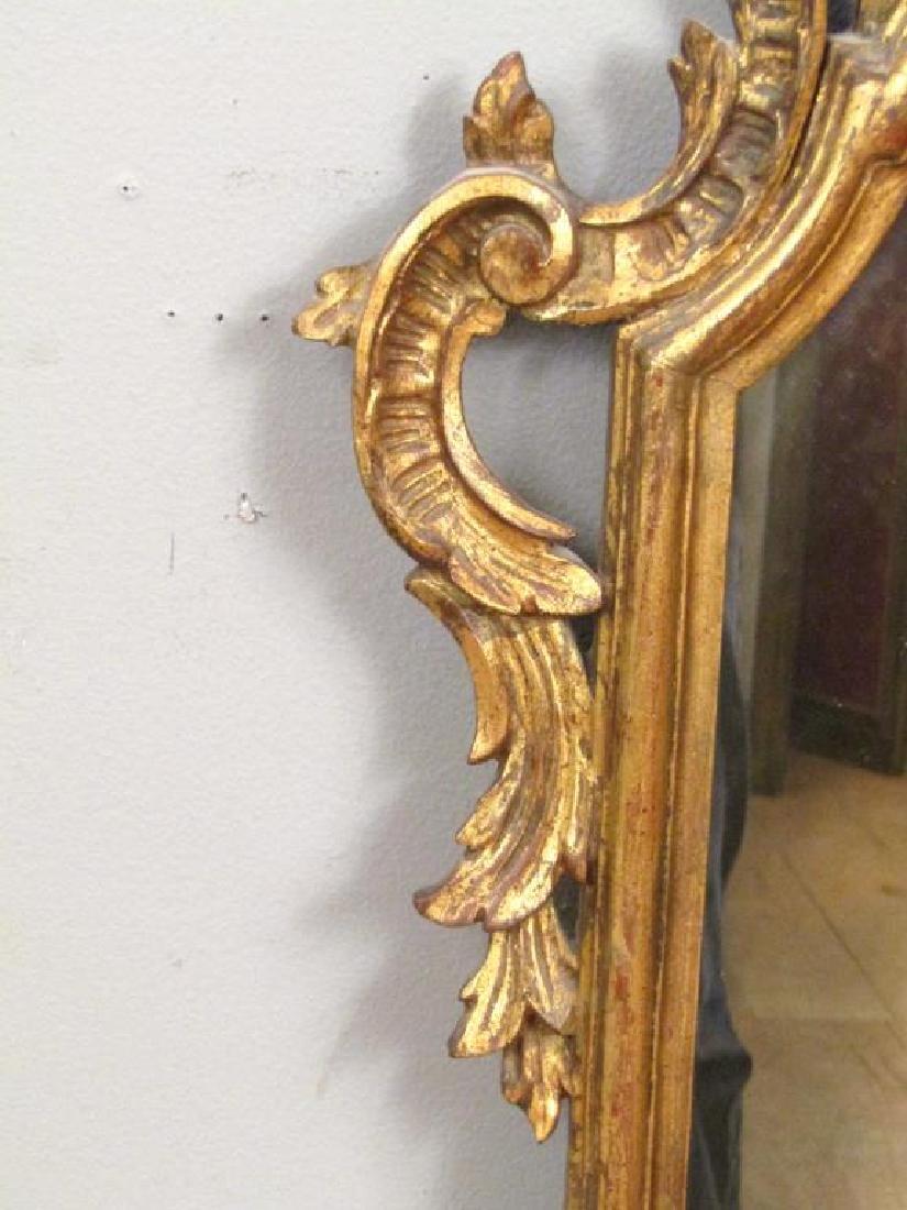 Georgian Style Gilt Carved Mirror - 4