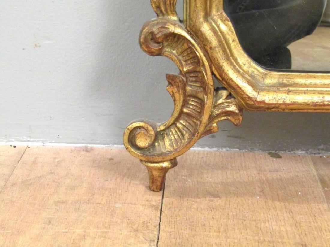 Georgian Style Gilt Carved Mirror - 5