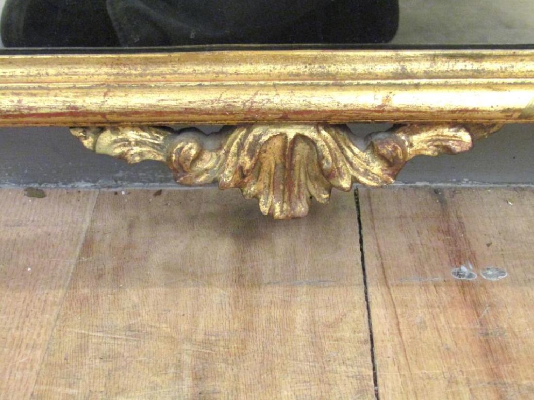 Georgian Style Gilt Carved Mirror - 6
