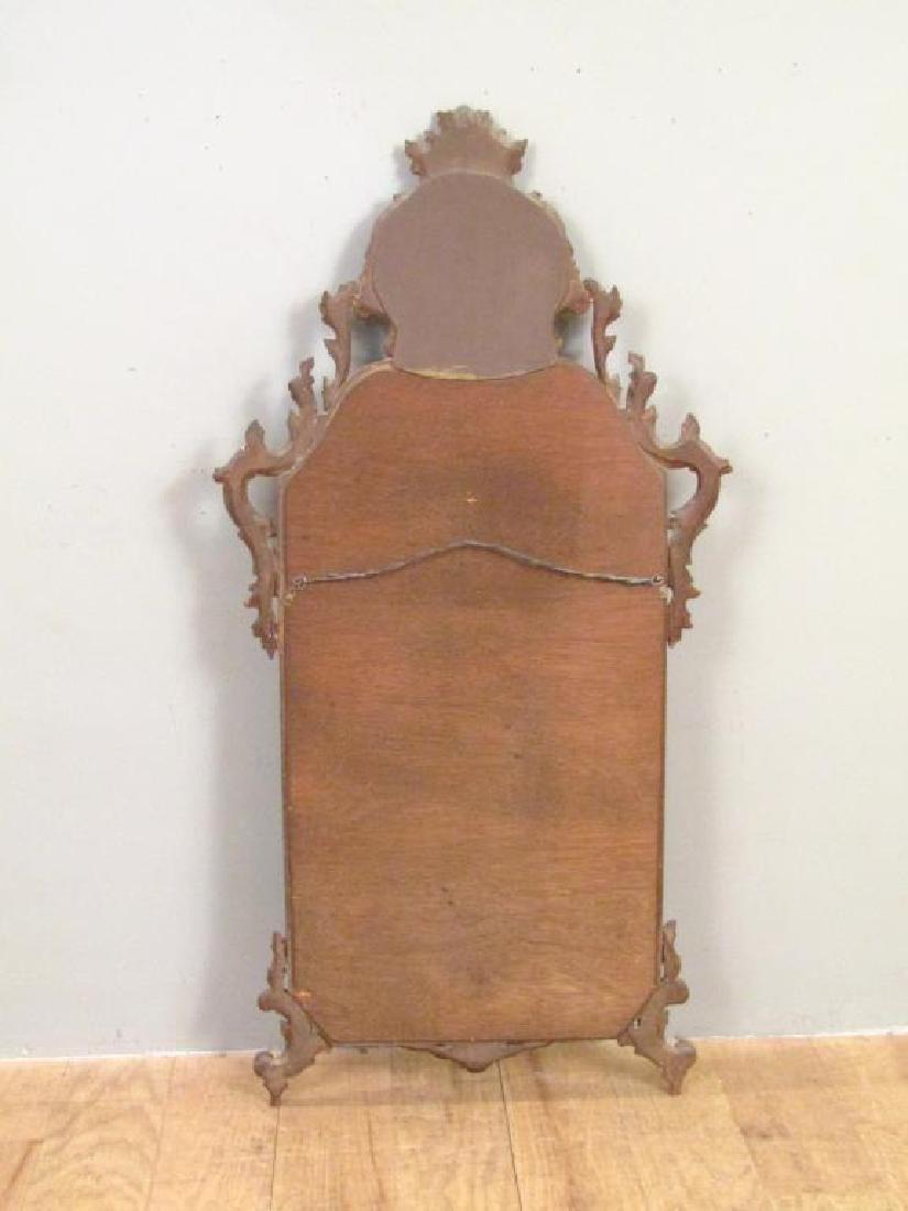 Georgian Style Gilt Carved Mirror - 7