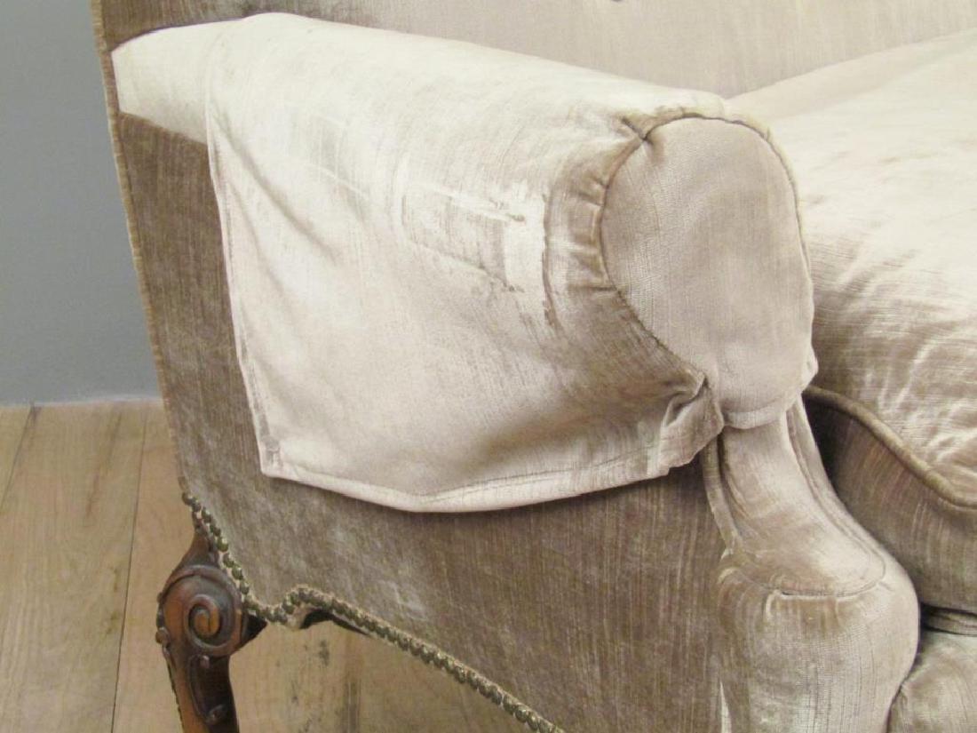 George II Style Carved Leg Sofa - 3