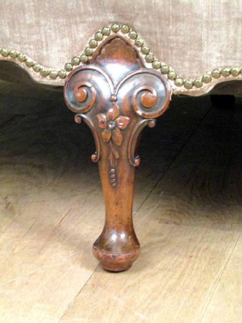 George II Style Carved Leg Sofa - 4