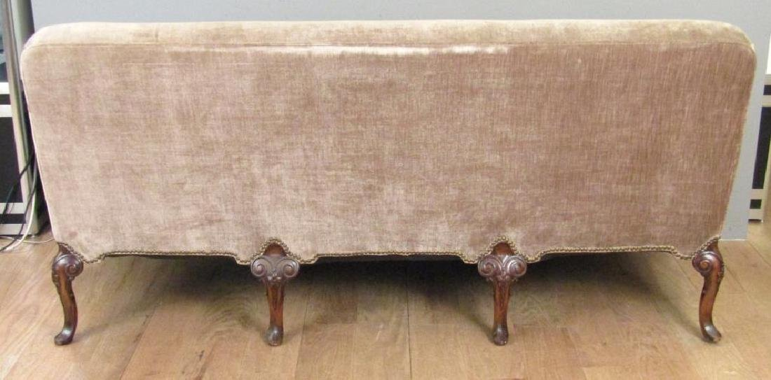 George II Style Carved Leg Sofa - 6