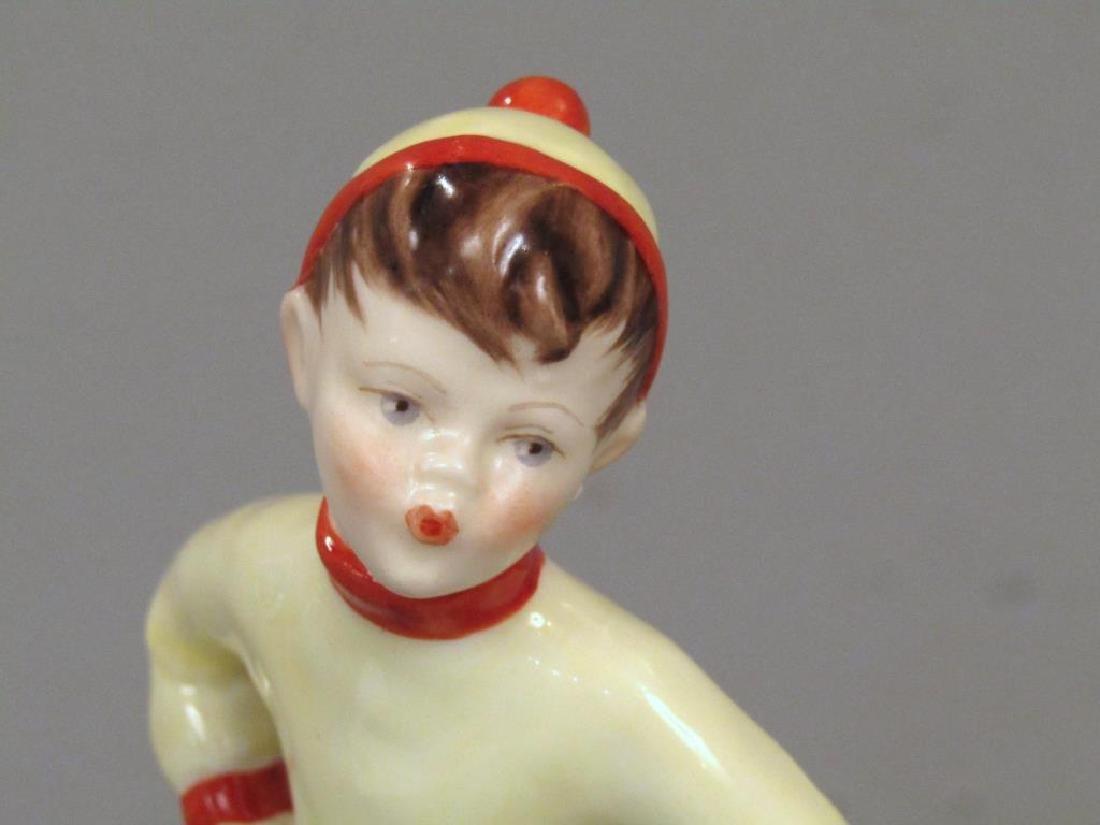 2 Royal Worcester Porcelain Figures - 3