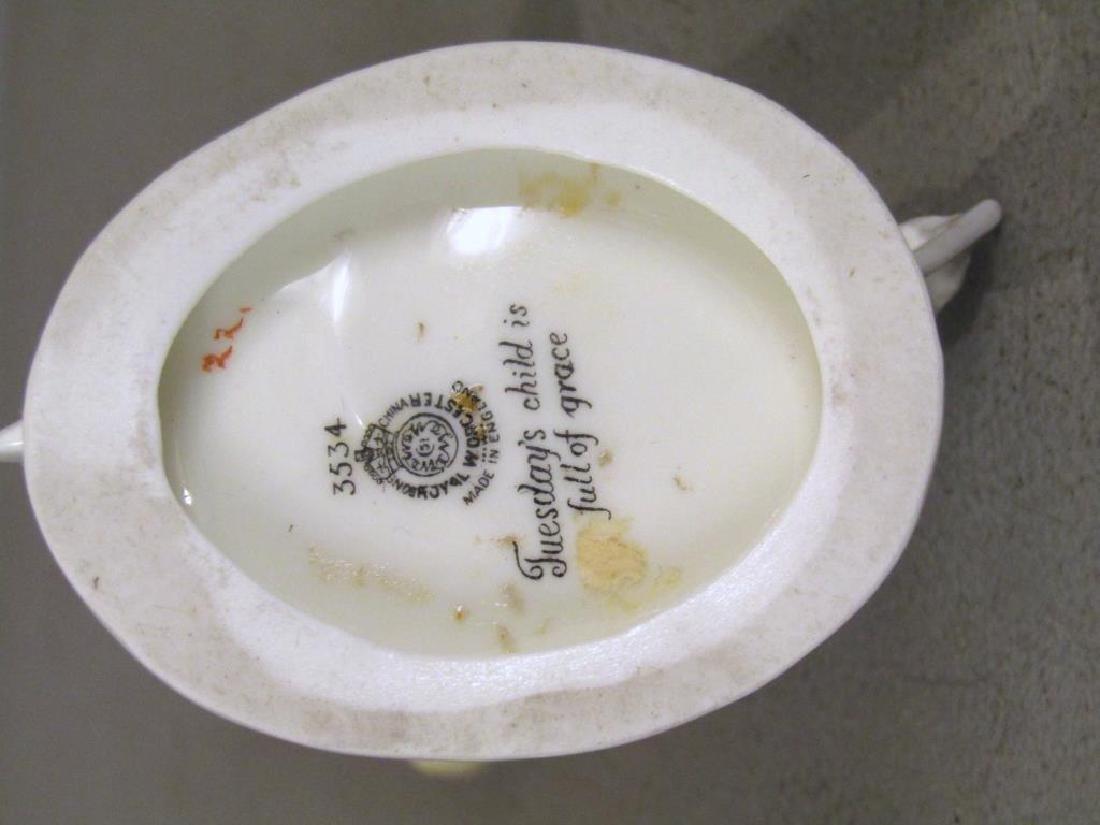 2 Royal Worcester Porcelain Figures - 4