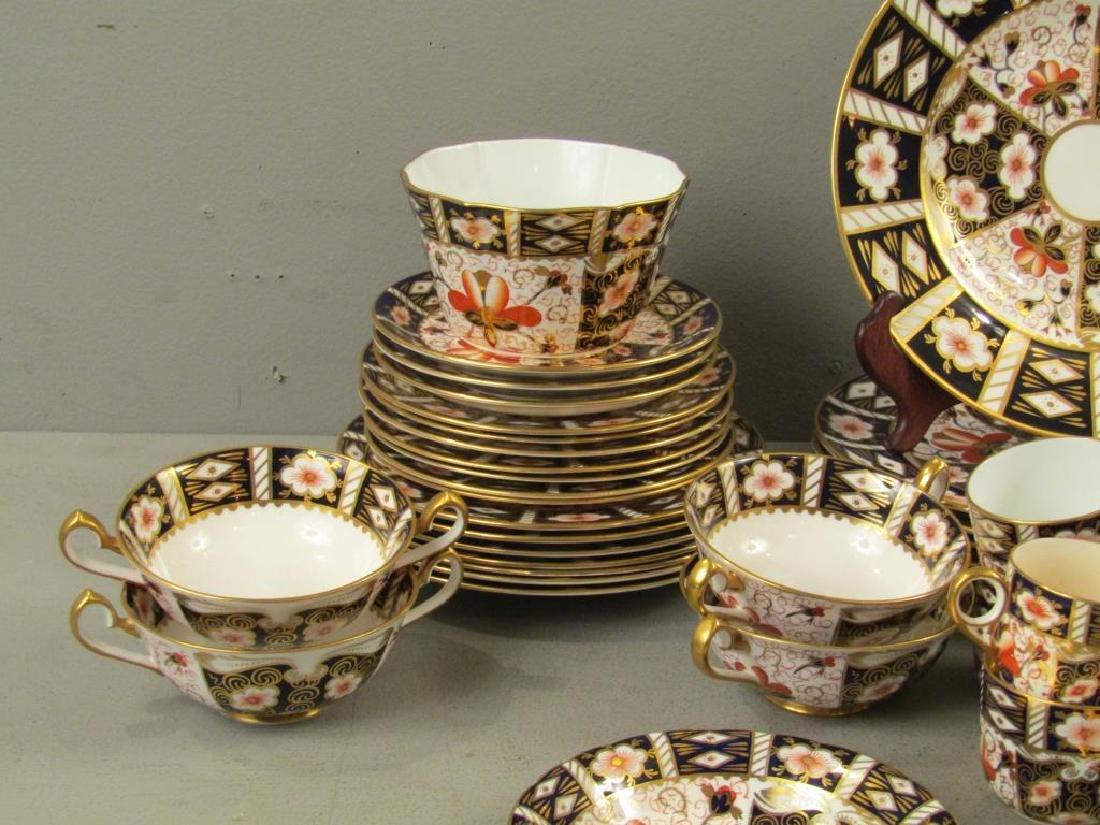 70 + Pieces Royal Crown Derby Imari Dinnerware - 3