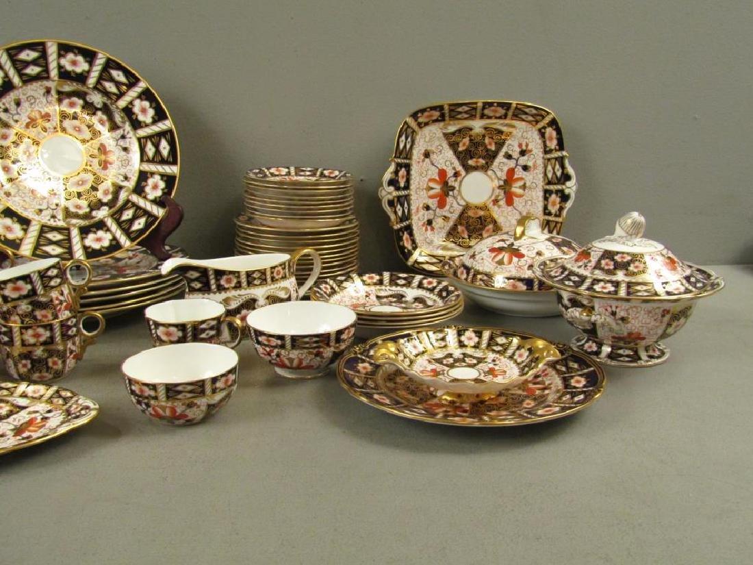 70 + Pieces Royal Crown Derby Imari Dinnerware - 7