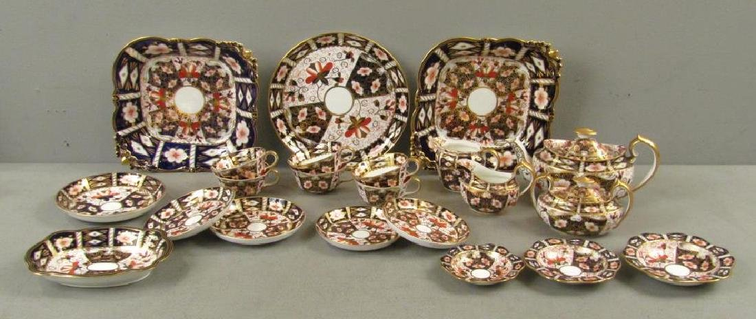 22 Royal Crown Derby Tea Pieces