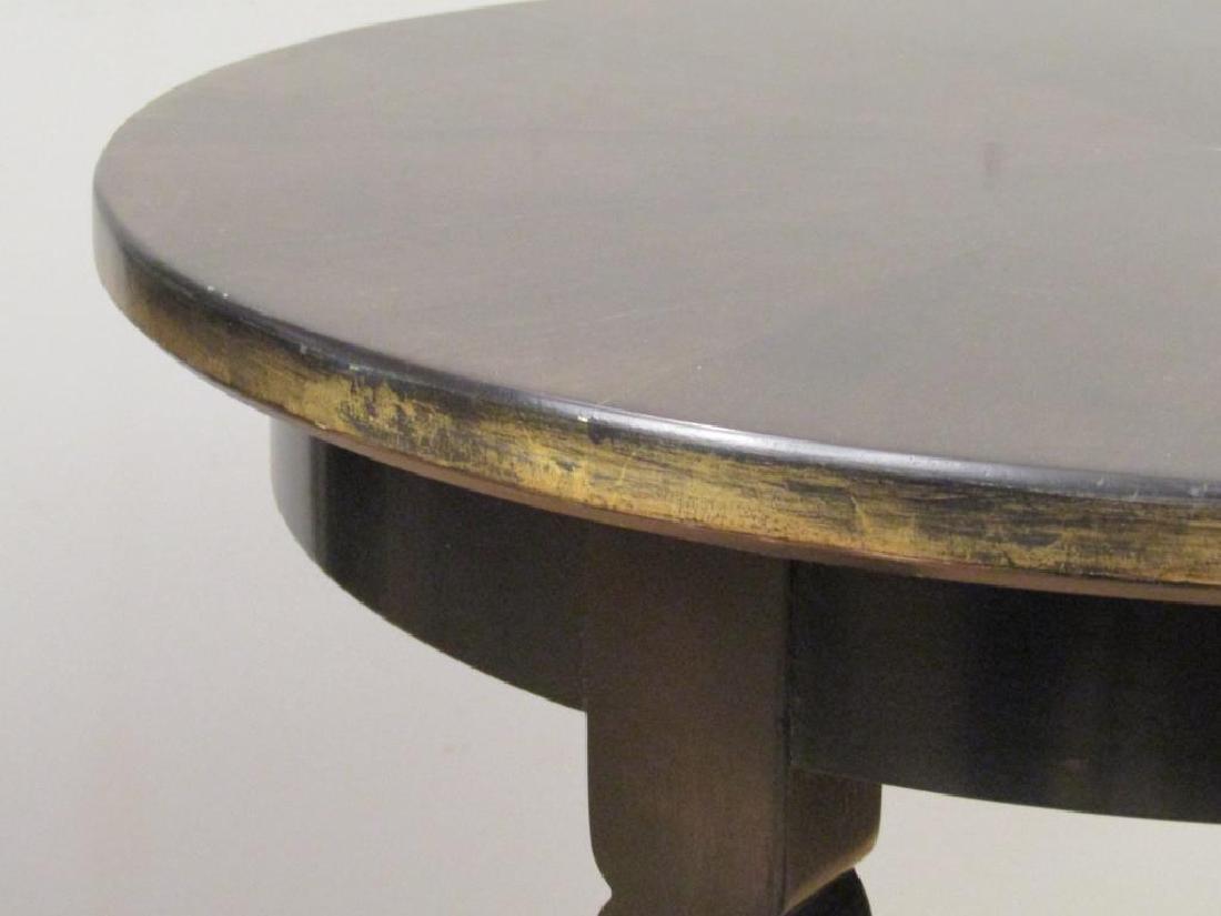 Pair Modernist Round Lamp Tables - 4