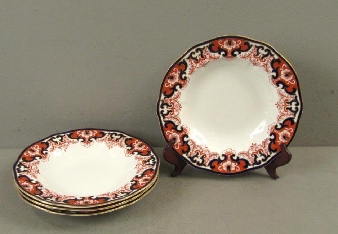 Set of 4 Royal Crown Derby Shallow Bowls