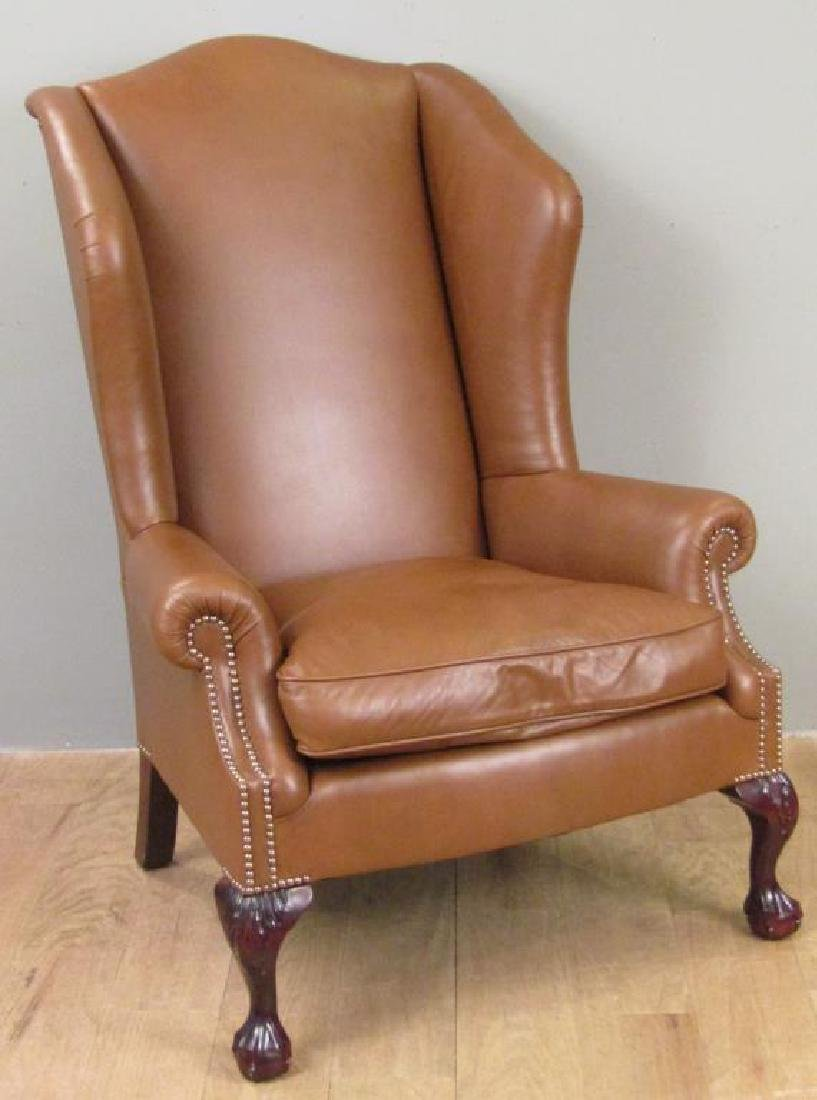 George Smith Wing Chair