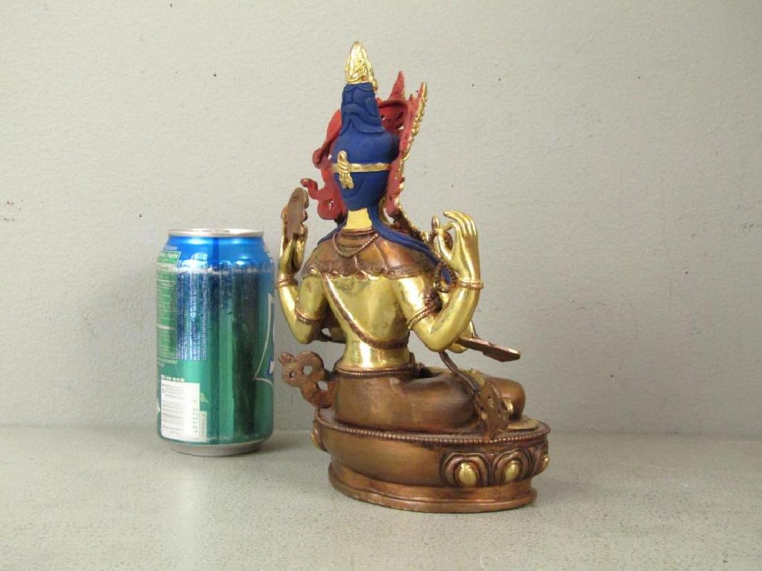 Bronze Buddha in Shrine - 5