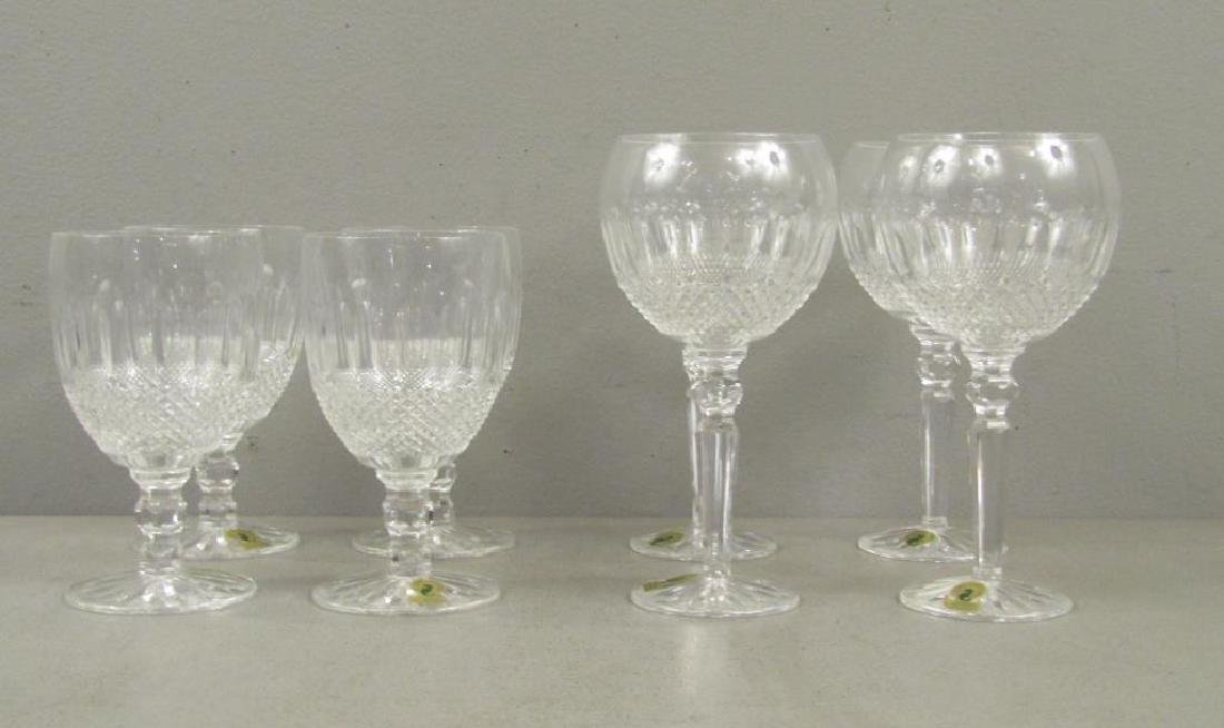 Set of 8 Waterford Goblets