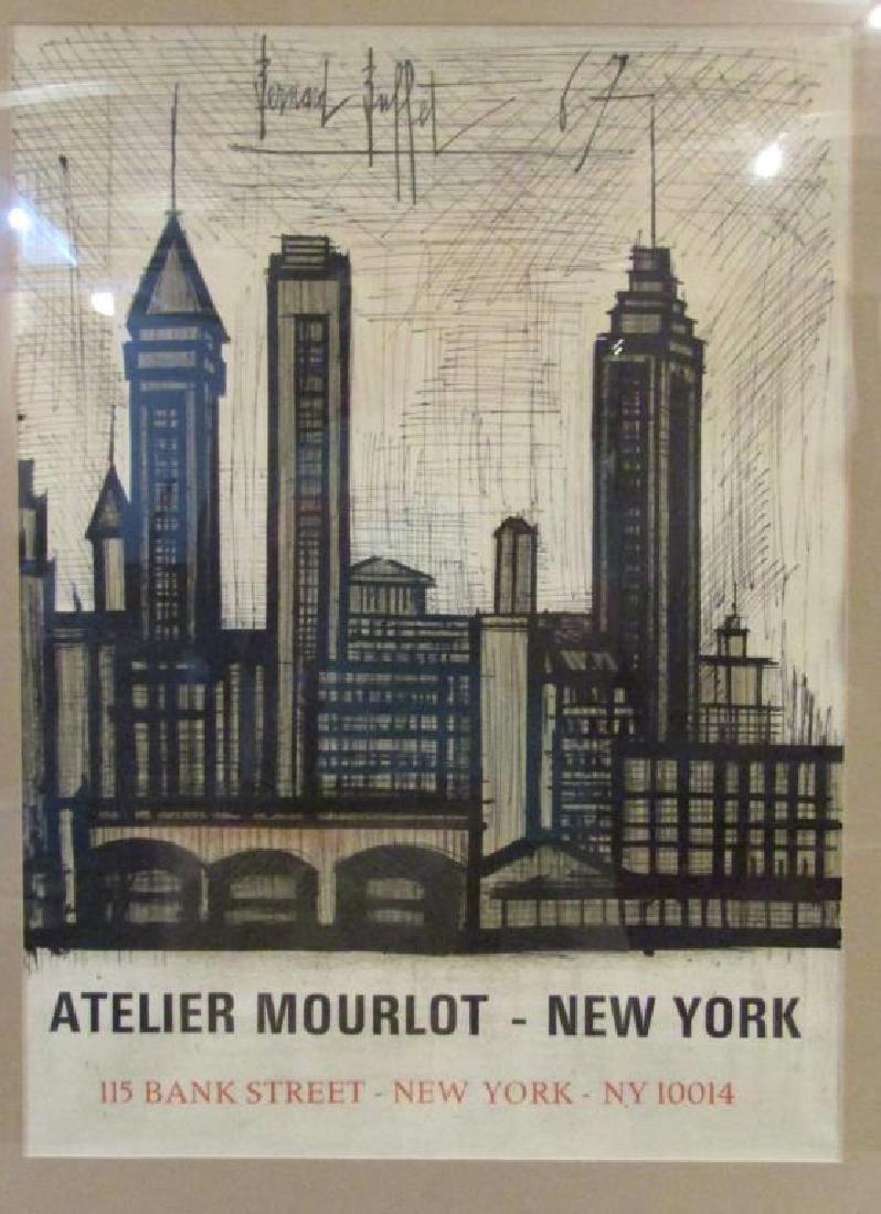 Bernard Buffet - Atelier Mourlot Poster