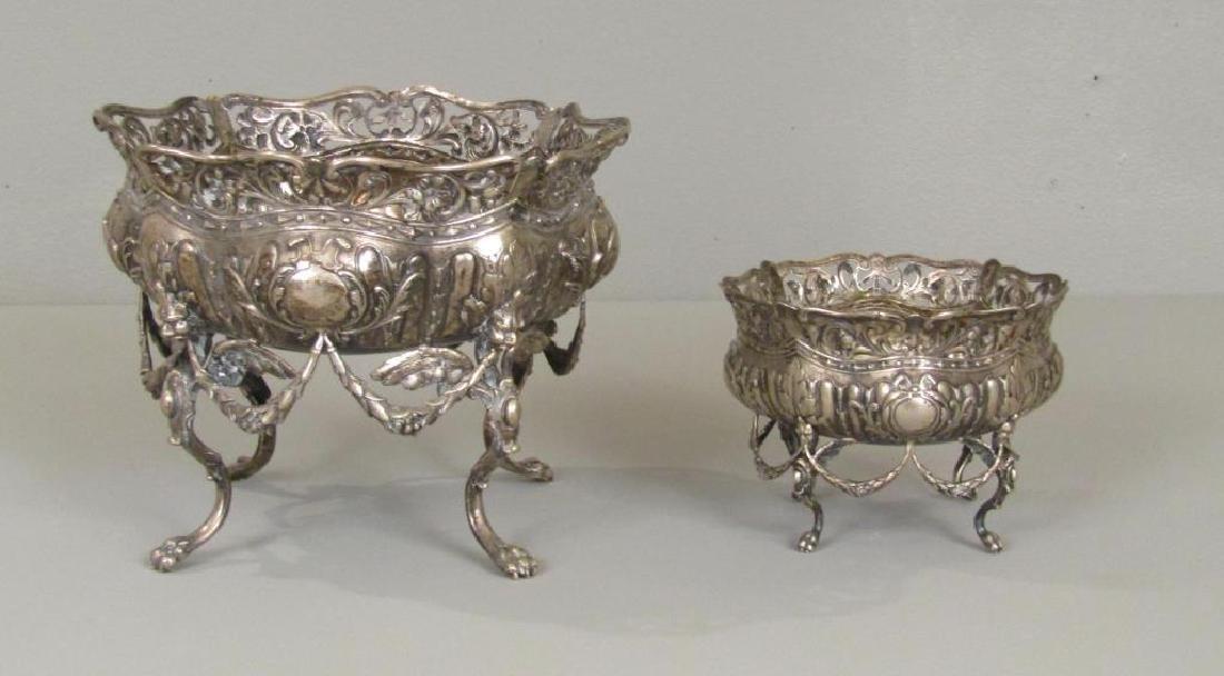 Austrian Silver Two Piece Bowl Set