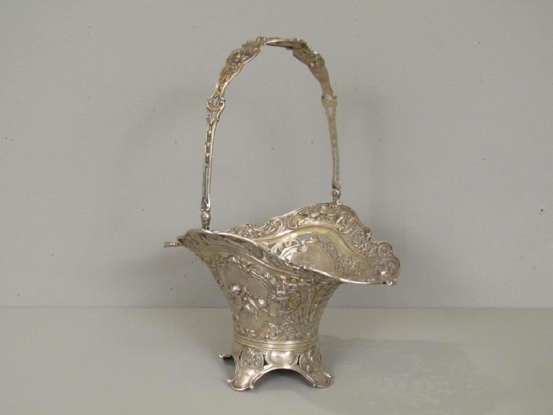 Austrian Silver Basket