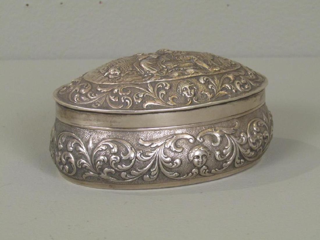 German Sterling Silver Box