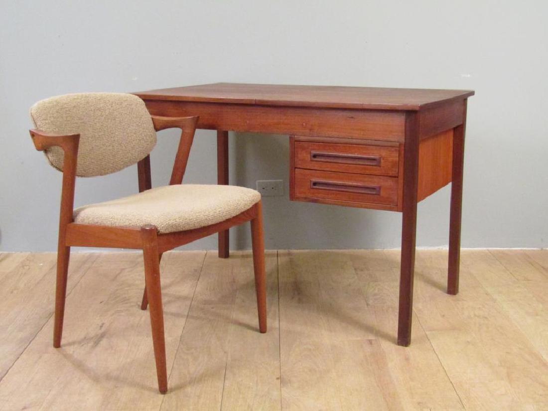 Danish Modern Vanity Desk and Chair