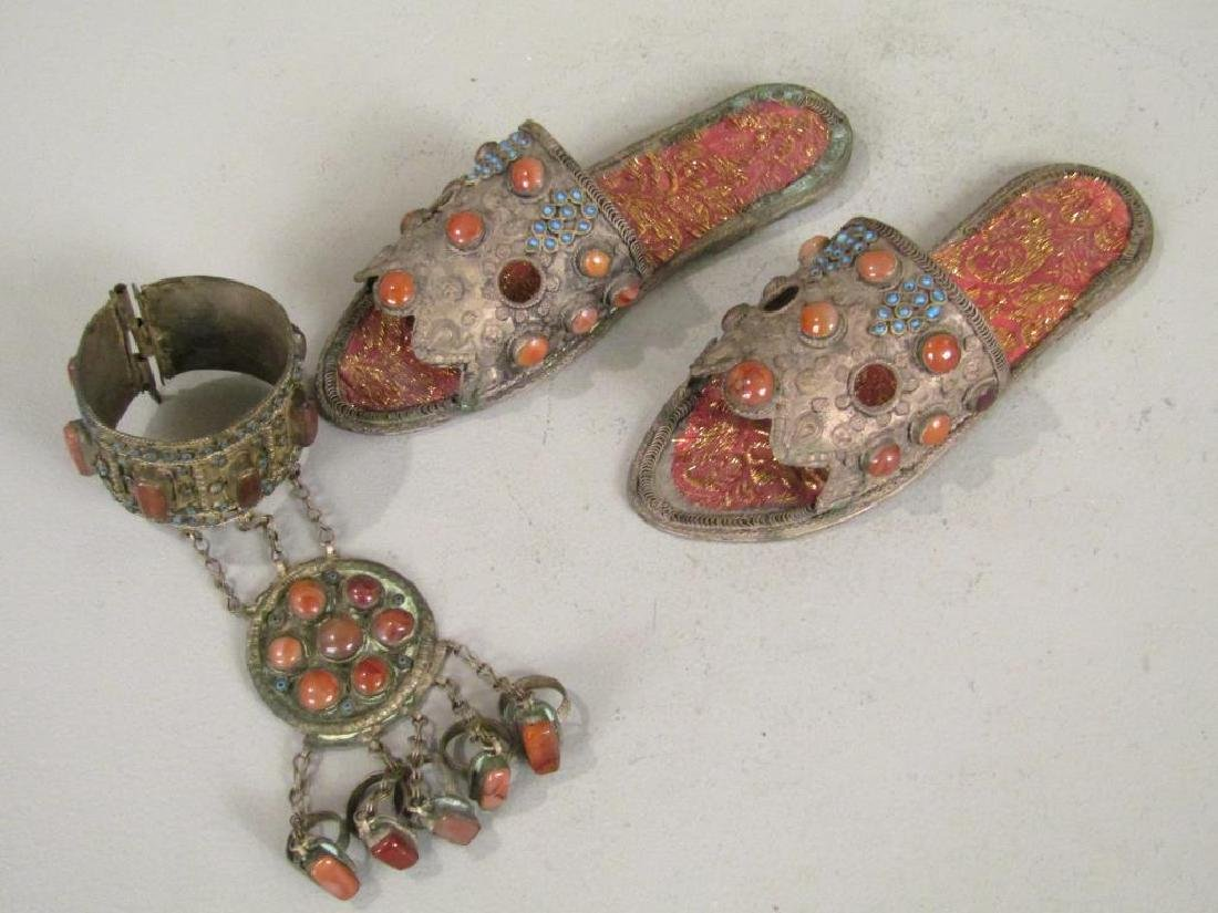 Ethnic Metal and Jeweled Articles